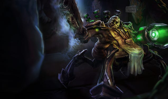 In Defense Of Urgot, League Of Legends' Most Notorious Hero