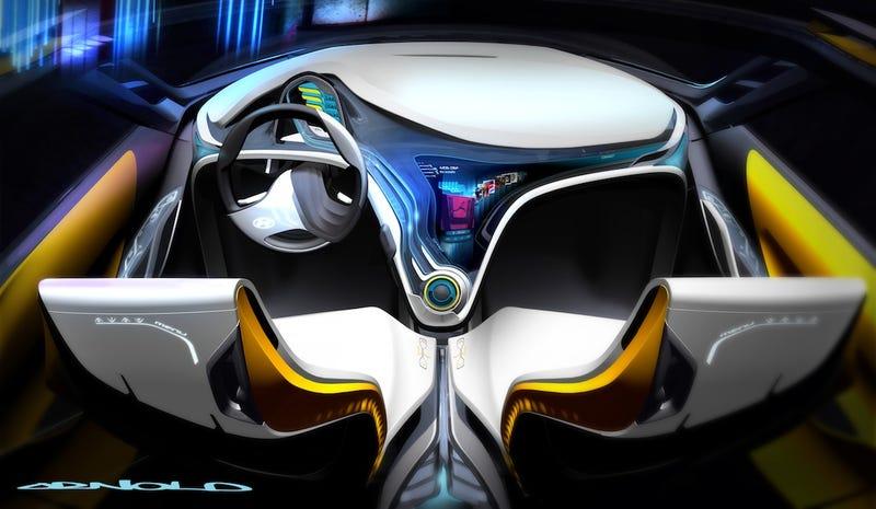 Hyundai Curb: Sci-Fi Tiny SUV