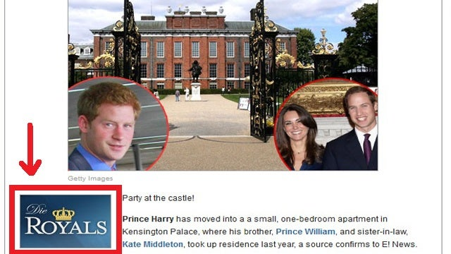 E! Online Commands the British Royal Family to Die