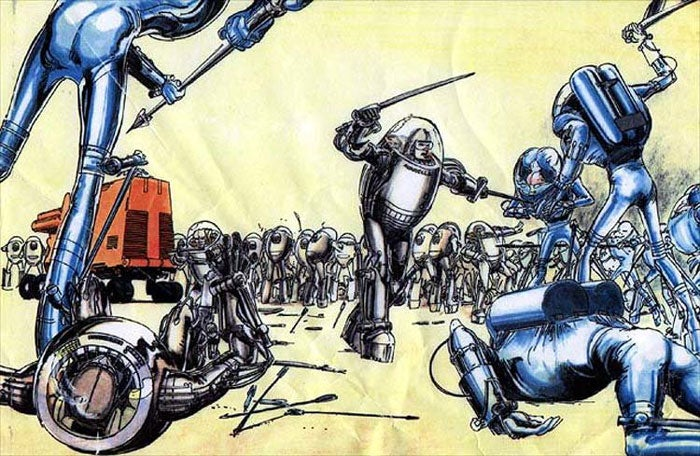 Neal Adams' Vision For The Forever War That Never Was