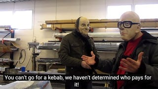 Building a Suzuki cafe racer with Spede and Urkki