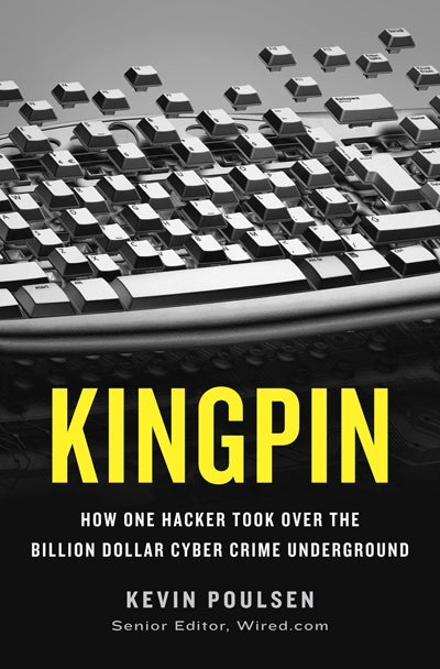 "Get inside the real-life world of computer crime with ""Kingpin"""
