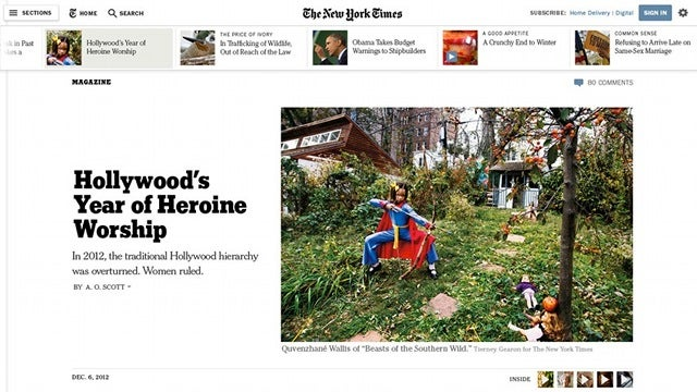 The New York Times Gets a Glorious Online Design Overhaul