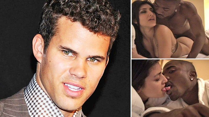 Kris Humphries' Sad, Awkward Run-In With His Wife's Sex Tape Partner