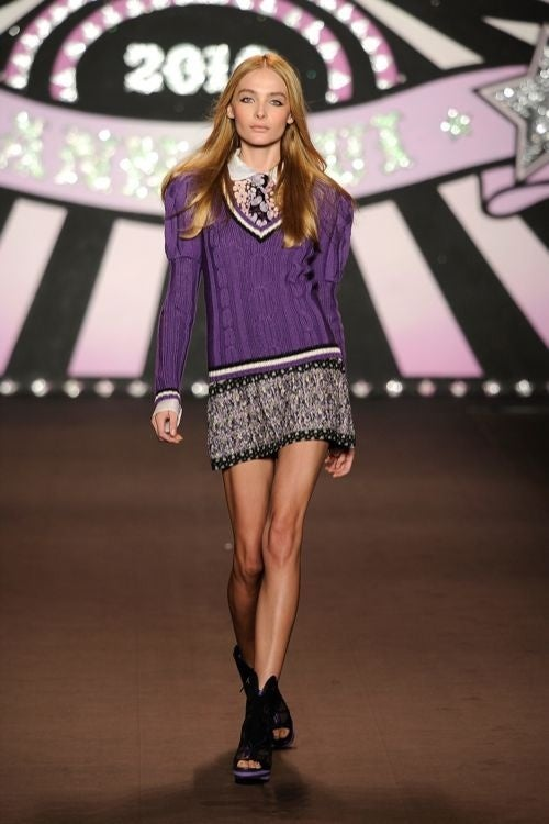 Anna Sui: For The Swinging '60s Preppy Schoolgirl Mod In You