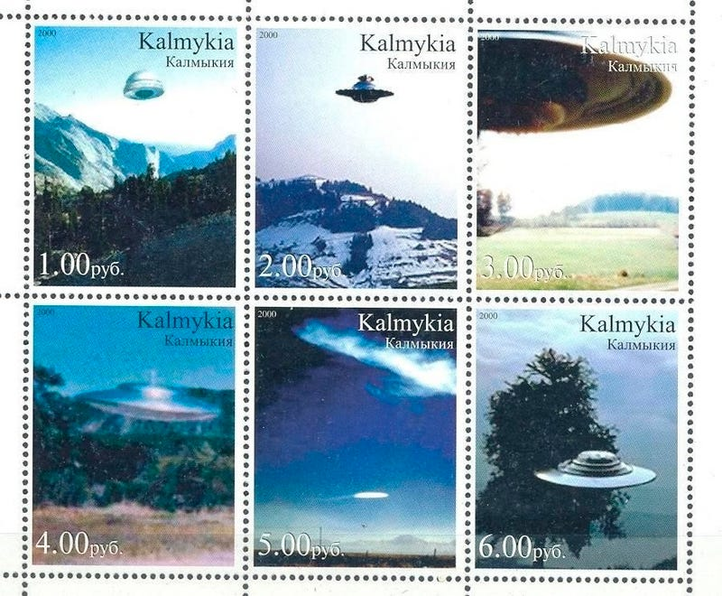 Awesome science fiction postage stamps from around the world