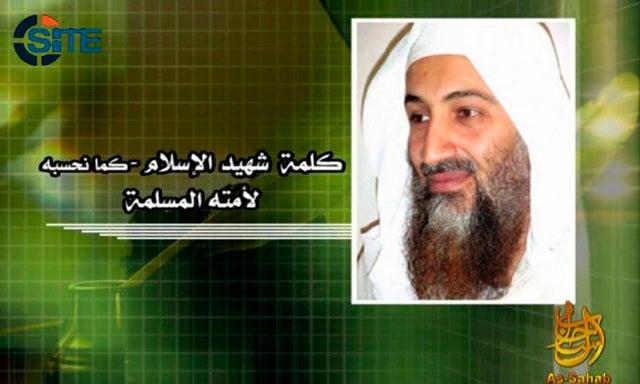 The Bin Laden 'Arab Spring' Tape Drops