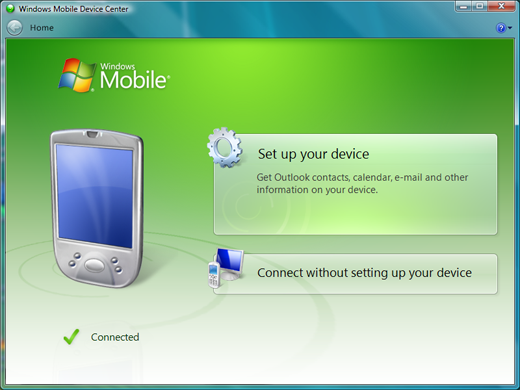 Windows Mobile Device Center Goes Final - Bye Bye ActiveSync