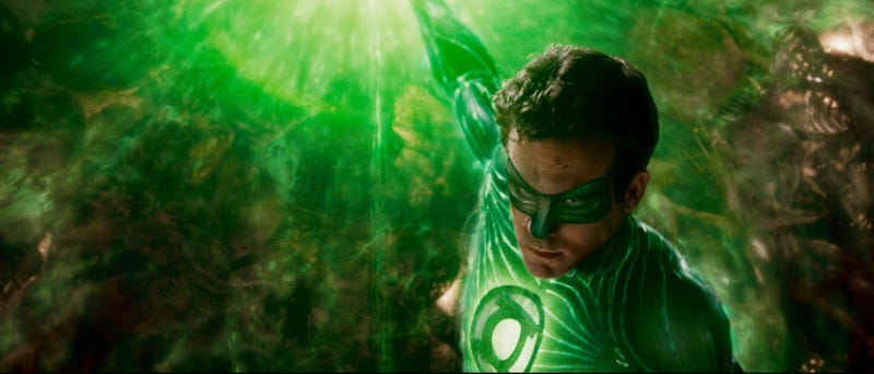 View every alien wrinkle and scale in 42 high res Green Lantern images
