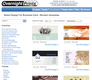 Five Best Business Card Printing Sites