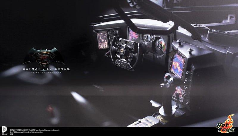 Hot Toys' Batman v SupermanLine Will Include a Massive Batmobile, Too