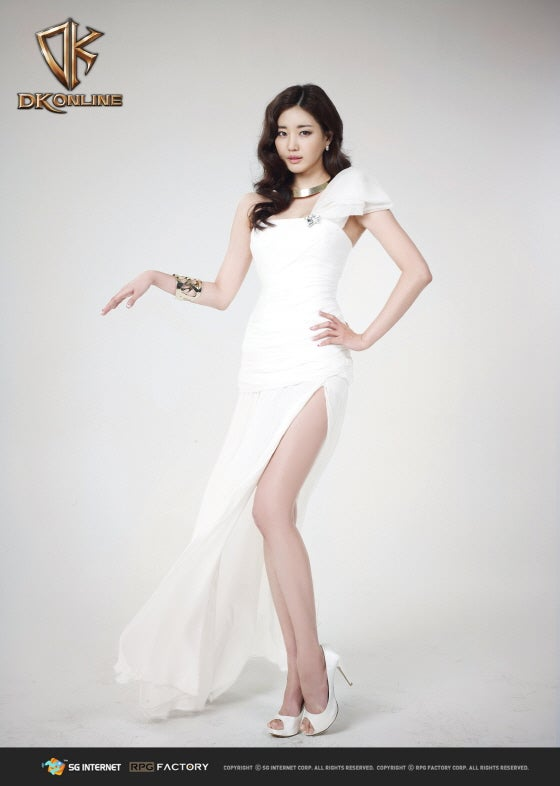 Former Miss Korea Becomes Game Character (It's Not What You Think)