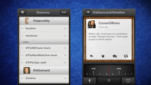 TweetSpeaker Is a Twitter Client for iPhone That Reads Tweets Out Loud