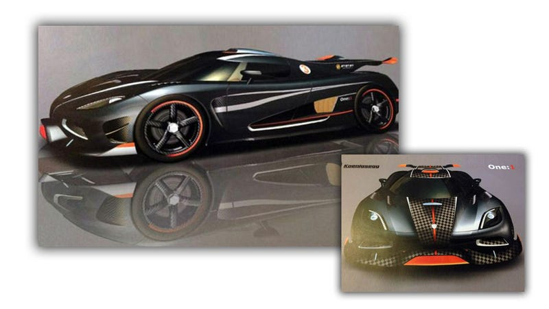 Koenigsegg One: 1 Has 1 HP Per Kilo, And Only For China
