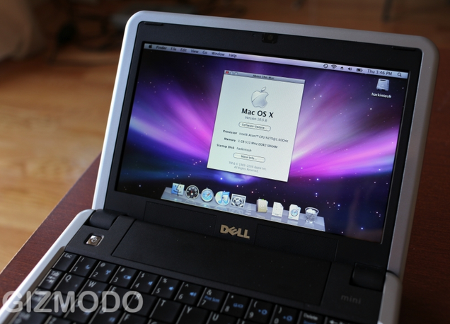 Dell Mini 9 OS X Capable Netbook For Only $200