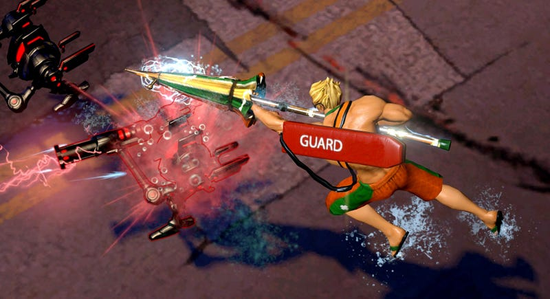 Play Infinite Crisis As Lifeguard Aquaman And Party Catwoman