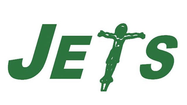 Darren Rovell Thinks This Jets Logo With A Crucified Jesus Christ Is Worth Your Attention