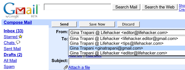 Consolidate Multiple Email Addresses with Gmail