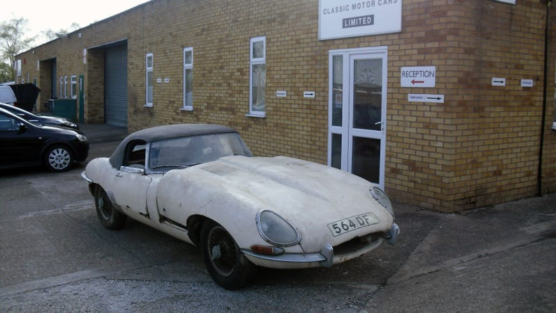 This Rusty Jaguar E-Type Sold For $171,000