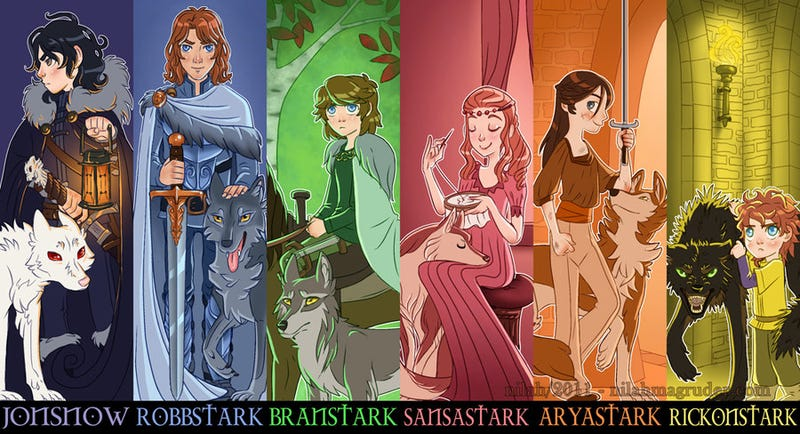 A Gallery of Great (and Not TV-Inspired) Game of Thrones Art