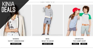 J. Crew Factory's Entire Site is 50% Off