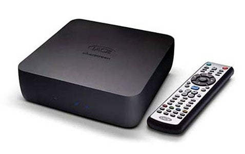 LaCie Silverscreen Media Center Plays Back DivX In 1080i