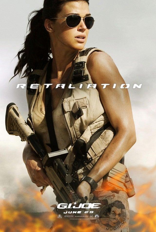 New G.I. Joe Retaliation Posters Gallery