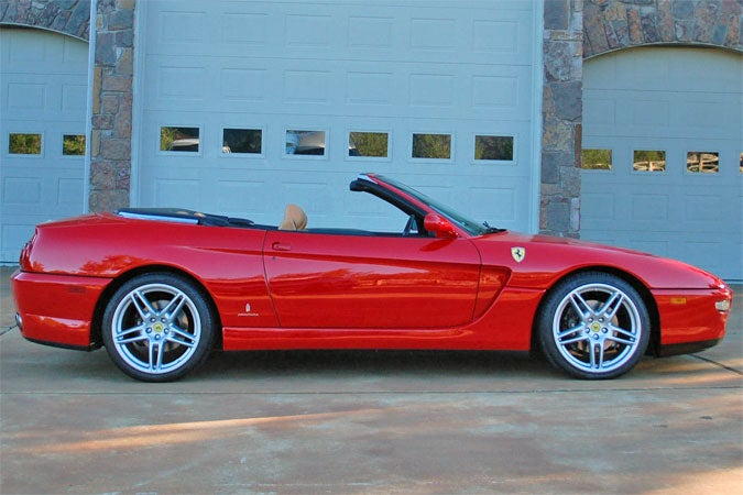 1 of 3 Ferrari 456 Convertibles is for sale.