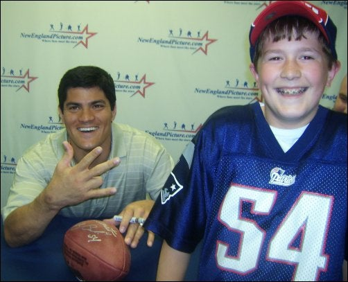 Tedy Bruschi's Going To Want To Try This Out Now
