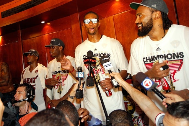 Chris Bosh Says He's A Lock For The Hall Of Fame, And He's Not Too Far Off