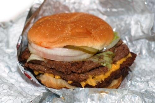 Five Unhealthiest Foods at Wendy's