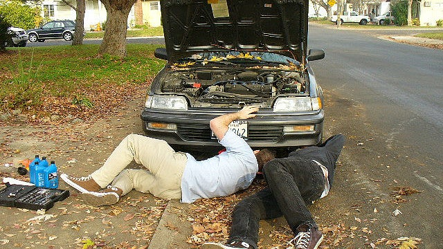 Ten automotive repair projects anyone can do