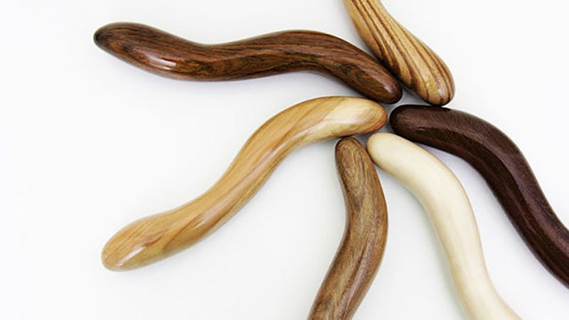 Would You Use a Wooden Dildo?