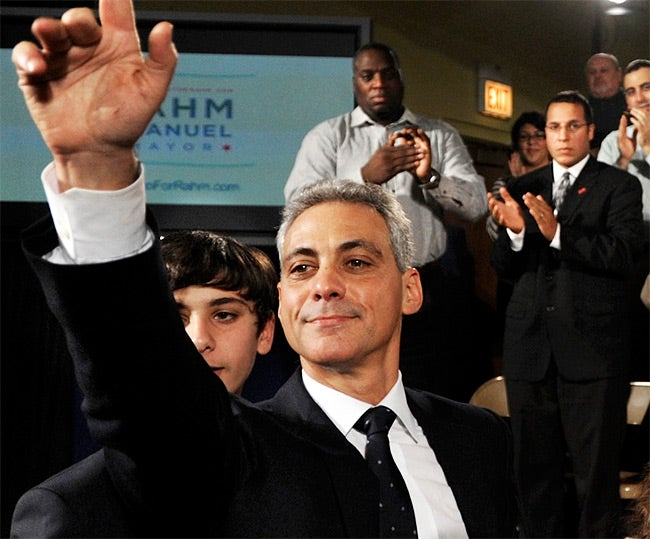 Rahm Emanuel Gets Permission to Conquer Chicago