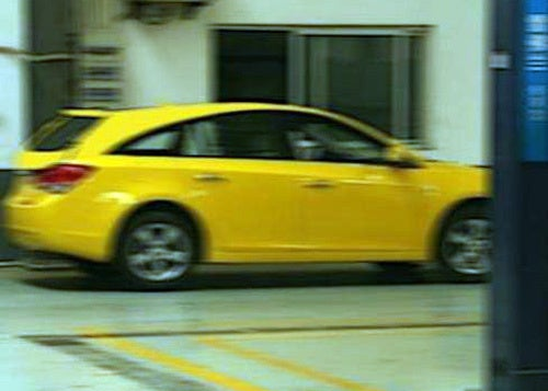 Chevy Cruze Wagon NOT Spotted