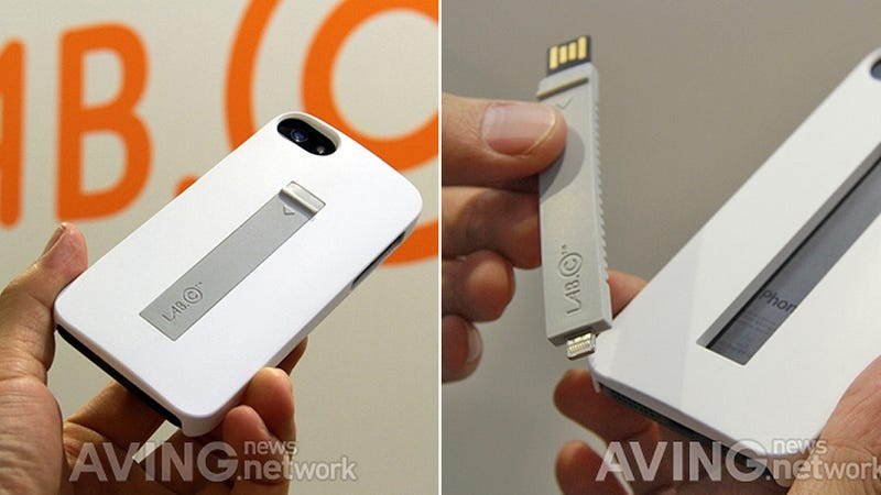 A Lightning Cable's Always Close at Hand With This iPhone 5 Case