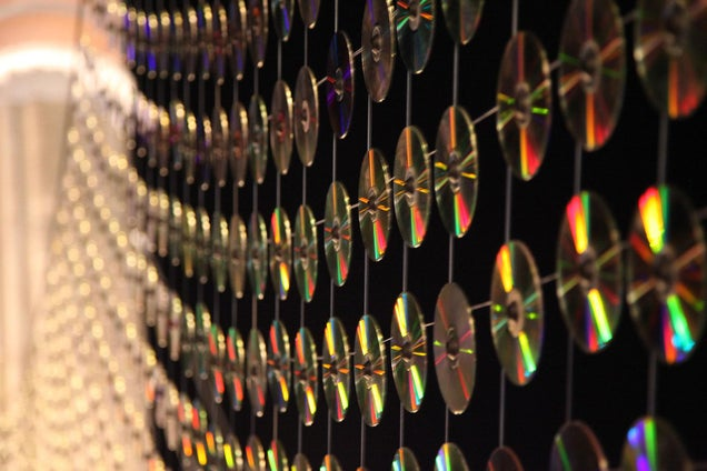 6,000 Used CDs Never Looked So Pretty