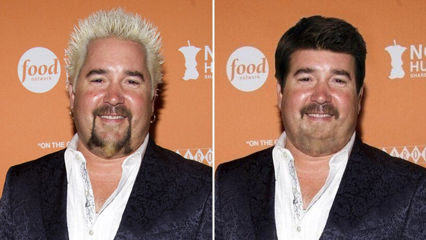 Guy Fieri With Normal Hair