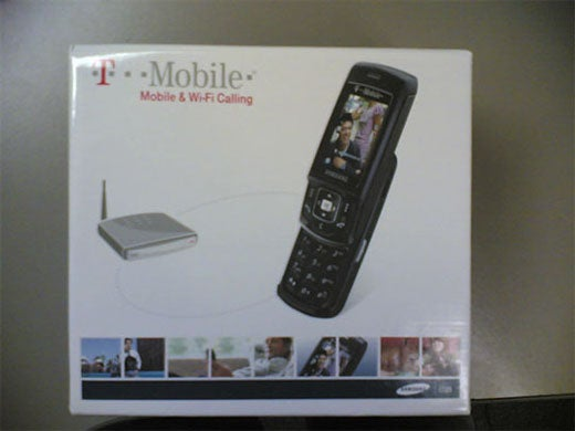 T-Mobile At Home VoIP Router/Cellphone Box Pictures