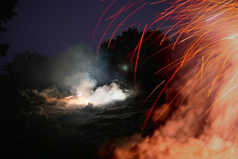 Gorgeous Photos Capture Smoke Bombs and Pyrotechnics As They Explode