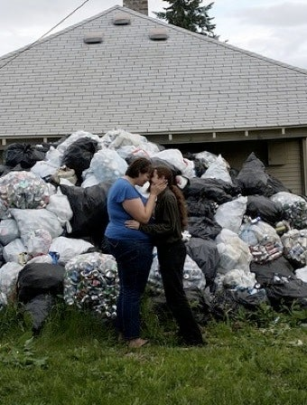 Couple Raises Money For Wedding By Recycling Cans