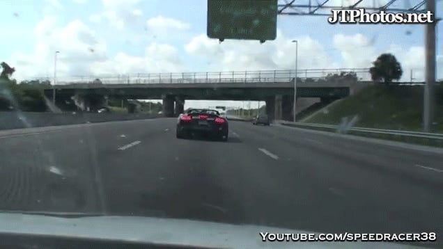 ​Watch This Audi R8 Driving Asshat Hit Ice-T, Cause Massive Pile Up