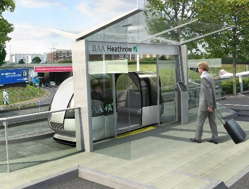 ULTra Brings Public Transport of the Future to Heathrow