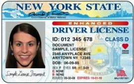 NY Driver's License Embedded With RFID: Doubles as a Passport