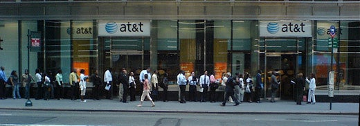 AT&T Interviewee Line Extends Half a Block Thanks to iPhone Mania