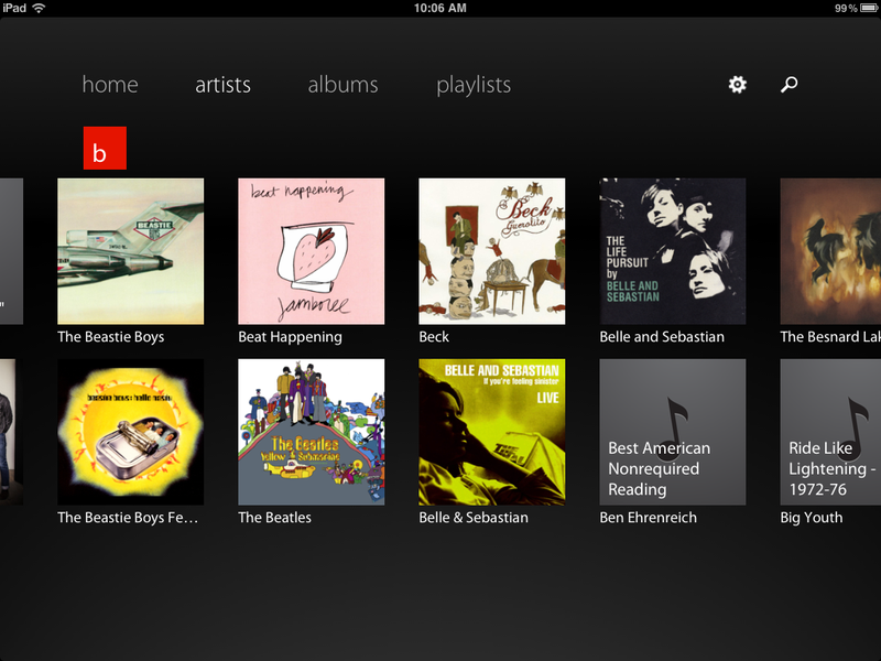 Track 8 Music Player Brings Microsoft's Beautiful Metro Design to iPad