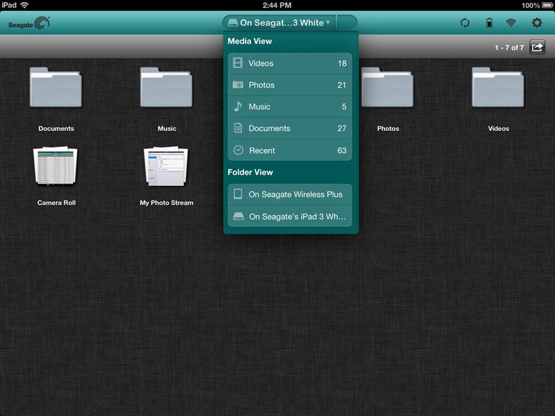 Seagate Wireless Plus Gallery