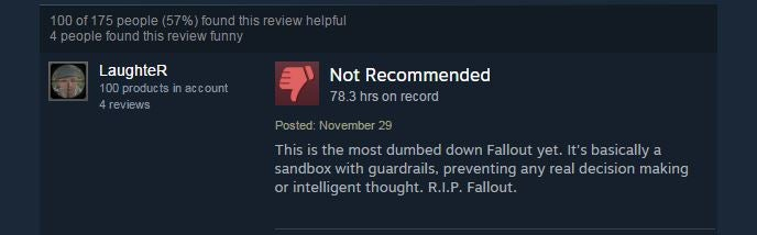 Fallout 4 Is Not The Fallout Fans Fell In Love With