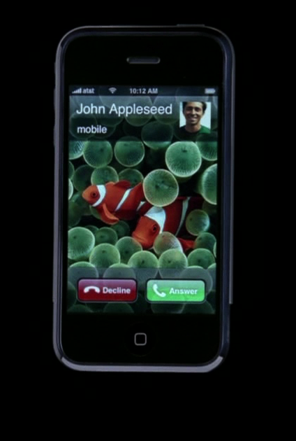 First Apple iPhone Adwatch: Hello Oscars