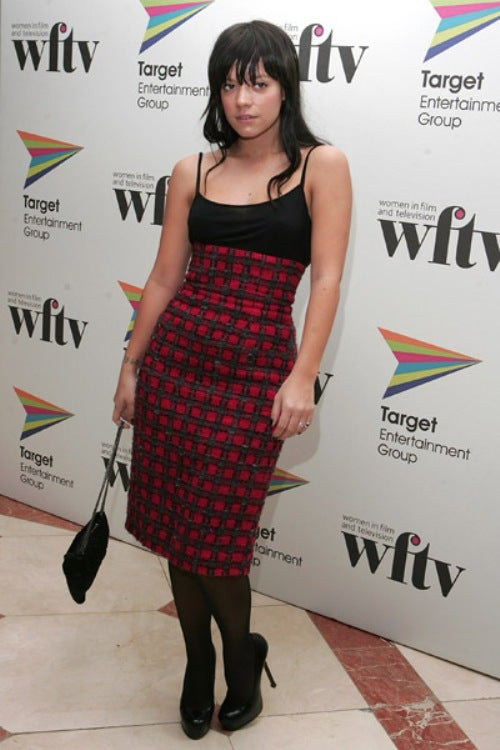 Lily Allen: Mad About Plaid